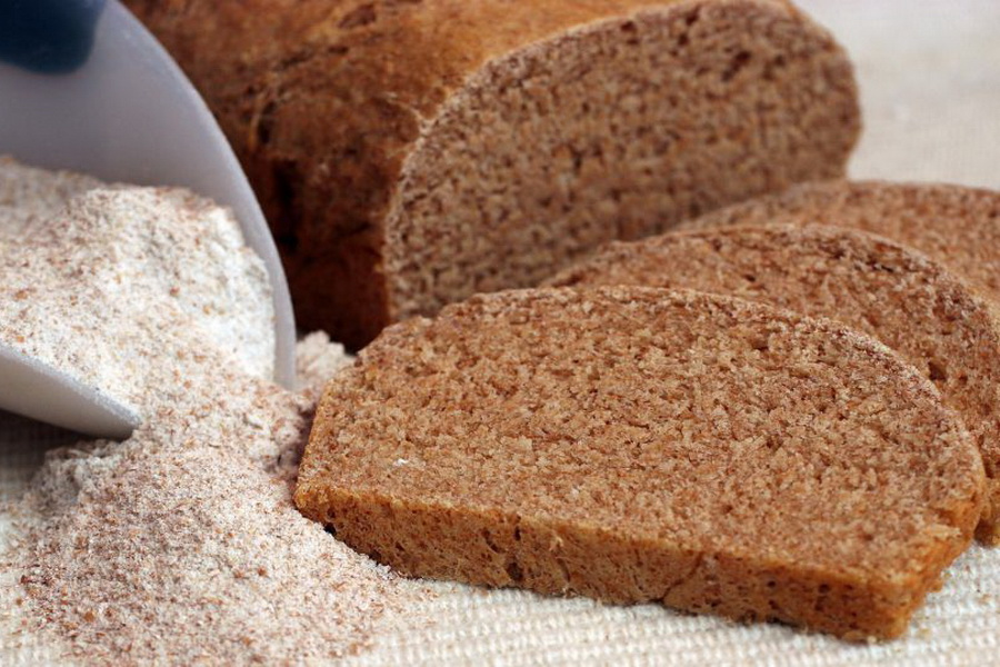 Хлеб из цельнозерновой ржаной муки рецепт
