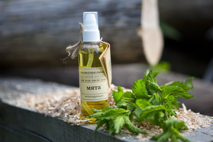 Оливковое масло для тела после душа